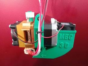 MK8 Extruder part cooling 30mm fan  mount.