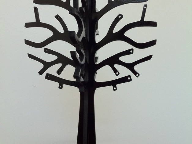 Laser Cut Jewelry Tree 3mm By Robyward
