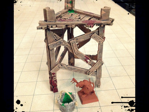 Savage Watchtower - Miniature Terrain