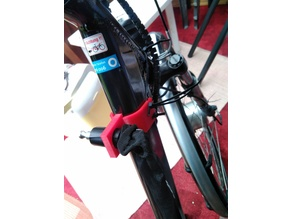 abus chain lock bike holder