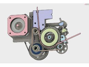 DAG Gear Belt Extruder