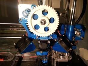 J head clamp with 30mm fan mount