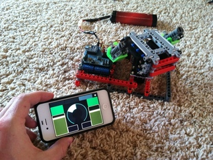 Lego Servo Turret System