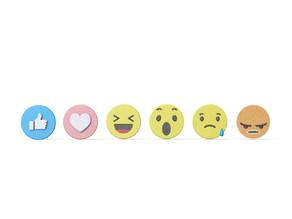 New FB like button