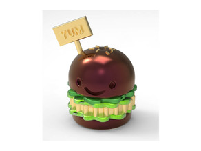 Yum Hamburger Miniature Toy
