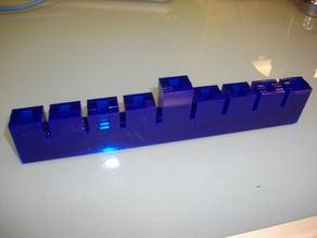Laser Cut Menorah