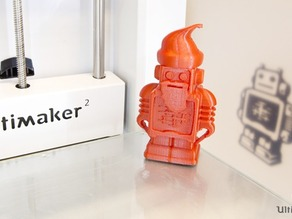 Ultimaker Christmas Santa Robot