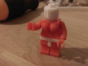 Slightly less uniform lego