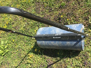 Tank closure for Einhell lawn roller