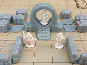Stone Portal (18mm scale)