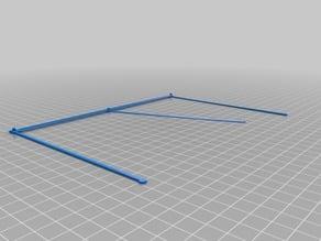Drafting Table Sliding Straight Edge
