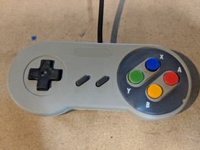 SNES replacement button