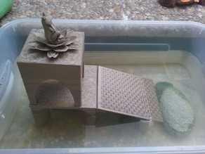 Aquarium terrapin terrarium