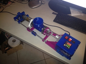 3D printed Filament Extruder based on LyMan Design