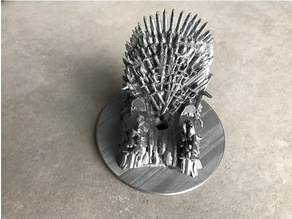Game of Thrones Iron Throne phone charger rest