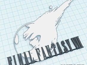 FInal Fantasy VII (7) Logo Art