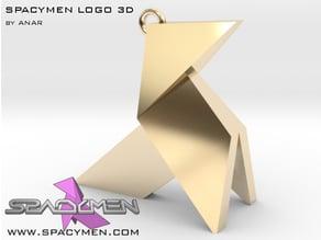 Spacymen logo 3D