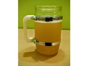 Post-apocalyptic style beer mug