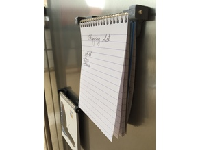 Fridge Notepad Magnet (Kitchen)