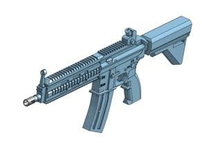 HK 416 rifle model