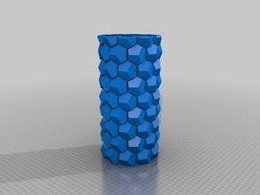 My Customized Honeycomb vase parametric
