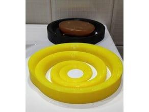 Soap holder spiral form