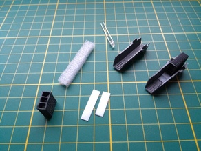 Custom VF-1 Valkyrie engine parts for lighting