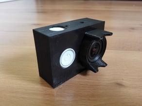 Xiaomi YI case and lens protector
