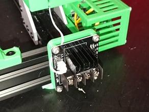 Mosfet Bracket Aluminium Extrusion V-Slot 2040