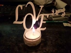 Valentines Tealight Holder