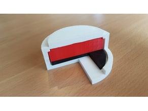 Model of Zinc Air Button Cell