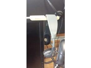 DELL clip-on headphones holder/hanger
