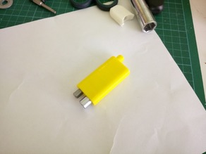Compact screwdriver with bit eject button