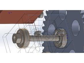 A gear extruder design