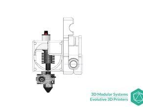 Scalar - AluHotEnd V6/V7 HotEnd holder