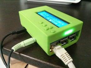Case for Raspberry Pi B+ with Adafruit LCD + keypad kit