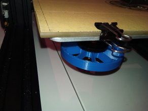 CR-10 Bed leveling thumb screw modification