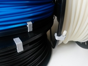 Filament Spool Clip