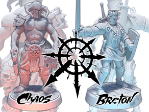 Chaos Warrior VS Bretonnian Knight