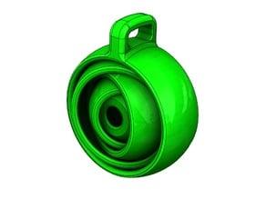 Gyroscopic keychain