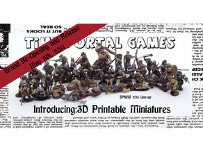 52mm scale Goblin and Other Early Works