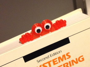 Googly Eyes Bookmark