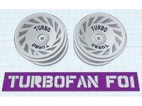 1:10 Buggy RIMS 61cm (TURBOFAN F01)