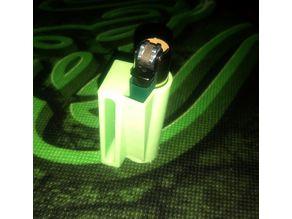 Clipper lighter holster