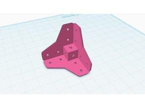 makerbeam corner cube extended 1010