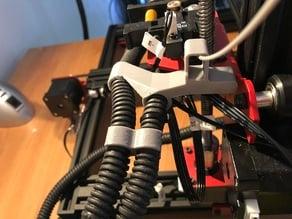 Guide pour Filament et support de Cable Alfawise U20