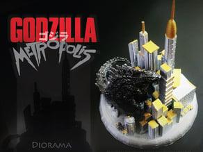 Godzilla Metropolis - Diorama