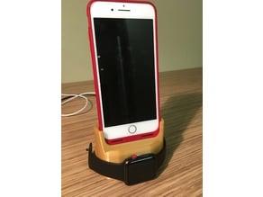 Mophie iPhone 6 plus, 7 plus ,8 plus charging dock w/ Apple watch