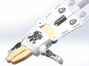 e-NABLE Phoenix Hand v2 - Three fingers removed