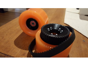 45T, 42T and 38T HDT-5M Pulley for Electric Skateboard